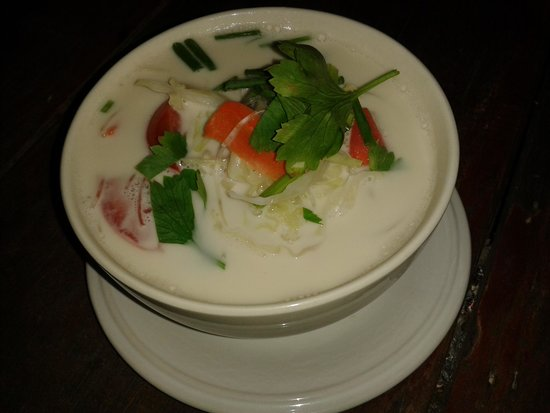 Sunset Bungalows : leckere Suppe in der Aacha-Bar