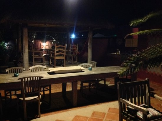 La Maison Aruba: Dining room