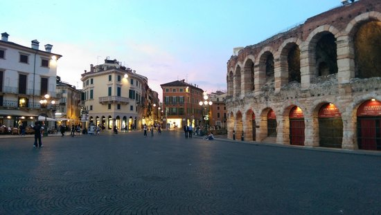 Arena di Verona: Feels cosy in this city with the arena beside