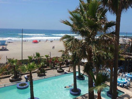 Los Pelicanos Hotel: Balcony view