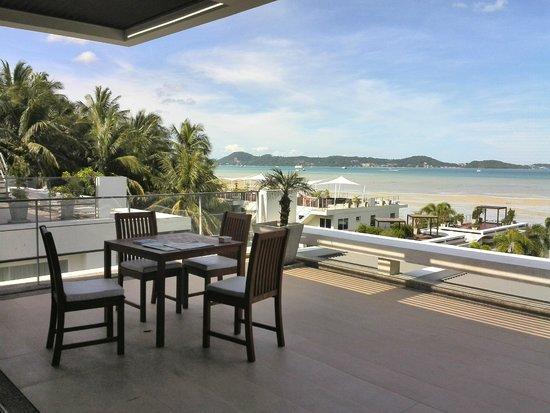 Serenity Resort & Residences Phuket : huge balcony