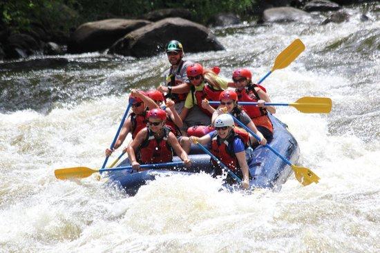 Big Creek Expeditions: having a blast!