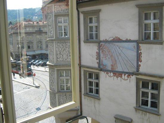 Hotel u Schnellu: dalla finestra della camera