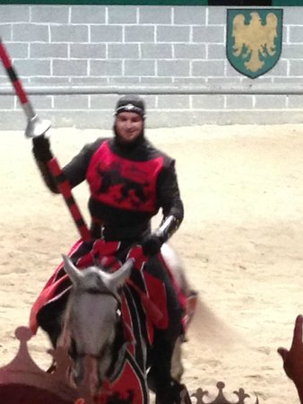 Medieval Times Dinner & Tournament: red team
