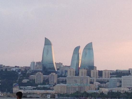 JW Marriott Absheron Baku: baku by night
