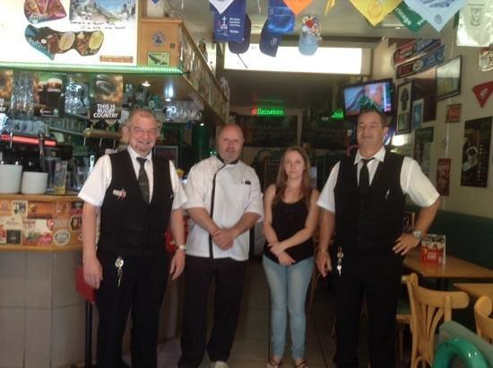 Bar Brasserie L'Eden : equipe 2014 tres pro