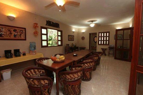 Casa Quetzal: Comedor