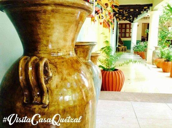 Casa Quetzal: Pasillos