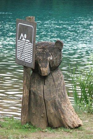 Plitvice Lakes National Park : Wytwór człowieka