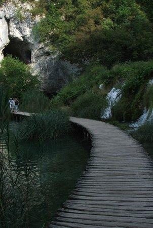 Plitvice Lakes National Park : Trasa wycieczkowa