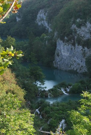 Plitvice Lakes National Park : Widok z góry