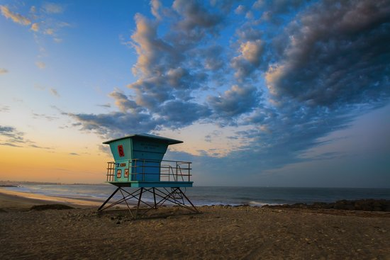 Lifeguard Tower on Ventura beach