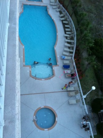 South Shore Villas: Outdoor pool and kiddee pool