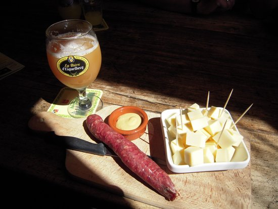 Kerelshof : The sausage and cheese snacks for 2 or 3 euros