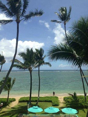 Pat's at Punalu'u: View of ocean out front from lanai