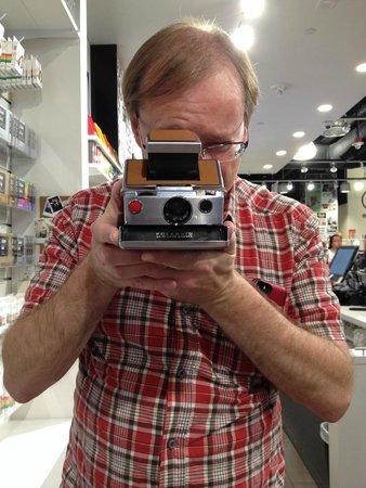 Polaroid Fotobar and Museum: Check out the vintage polaroids