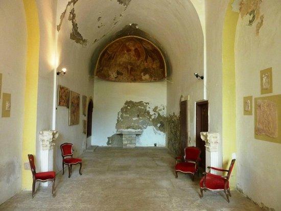 Island Hotel Istra: Church/Restaurant on island