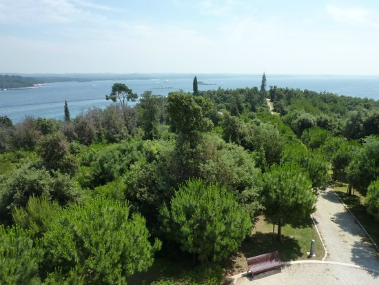 Island Hotel Istra: View from the tower