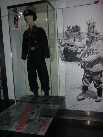 Museo de la Armada: Uniforme da Segunda Guerra Mundial