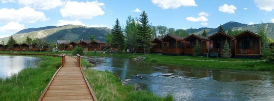 Rustic Inn Creekside Resort and Spa at Jackson Hole: panorama
