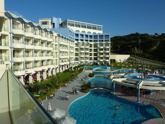 Atrium Platinum Hotel: View from our room