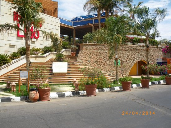 Lido Sharm Hotel: entrée de l'hôtel