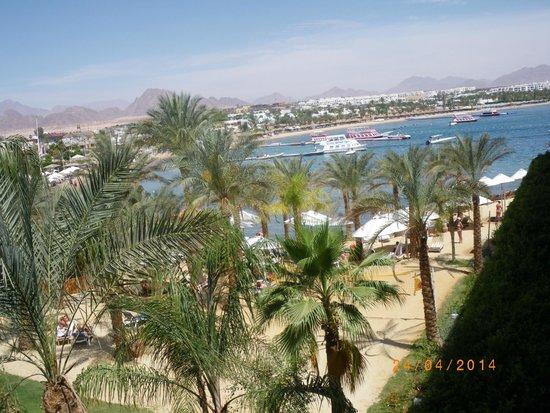 Lido Sharm Hotel: vue de la chambre