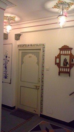 Mewar Haveli : Our room