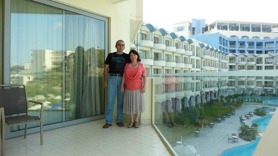 Atrium Platinum Hotel: Our suite