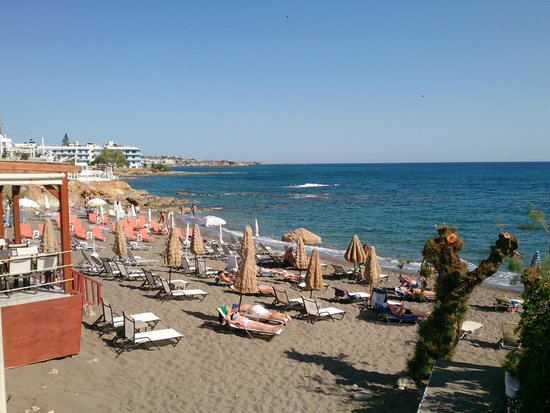 Golden Beach Hotel : beach