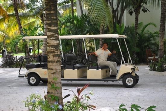 El Dorado Royale, by Karisma: the mode of transport