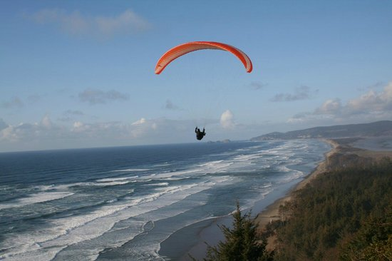 Terimore Lodging by the Sea: paraglider