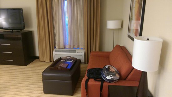 Homewood Suites Fort Worth West at Cityview: Living space
