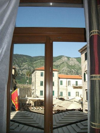 Hotel Vardar: view from the room