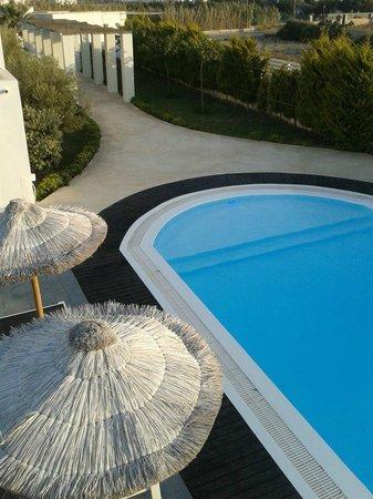 Villa Markezinis: pool from room