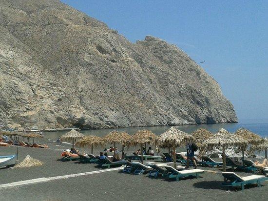 Villa Markezinis: beach Perivolos-Perissa