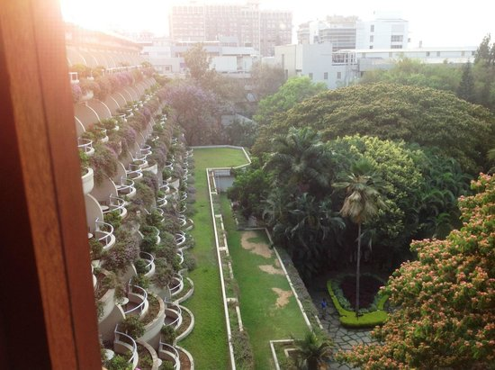 The Oberoi, Bangalore: The view from my window