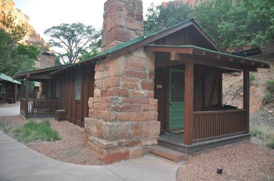 Zion Lodge: cabin