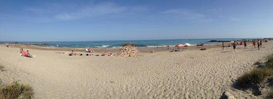 Camping Sandaya les Tamaris: la plage