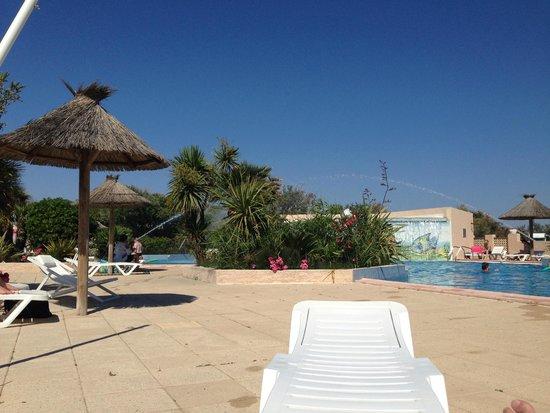 Camping Sandaya les Tamaris : la piscine