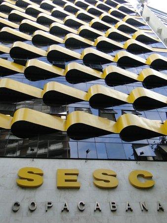 Hotel Sesc Copacabana: Frente do hotel