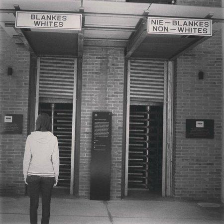 Museo del Apartheid: Entrada do museu