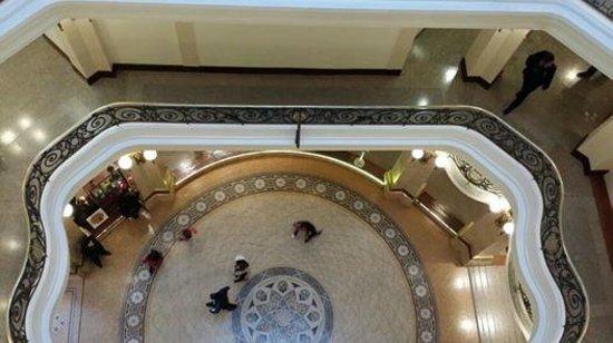 Centro Cultural Banco do Brasil São Paulo: Vista aérea a partir do 3 piso