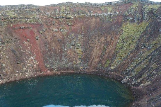 Kerid Crater: Beautiful.