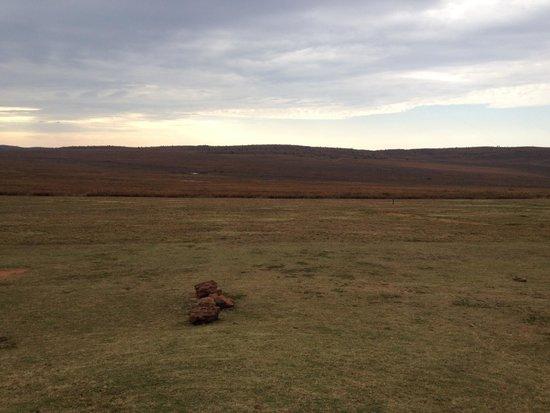 Pitse Lodge: Uitzicht