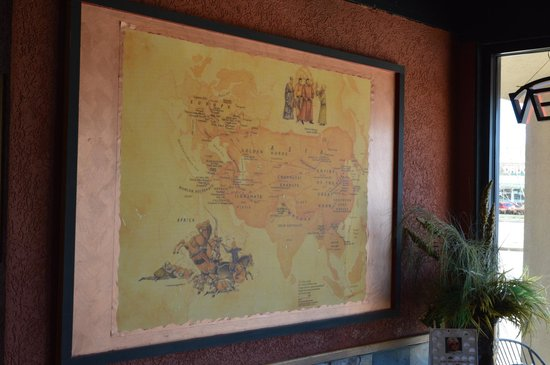 Map Picture of Crazy Fire Mongolian Grill Cary Raleigh TripAdvisor