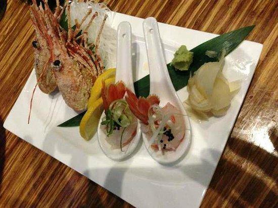 Kenichi: Ami Ebi Sashimi shrimp