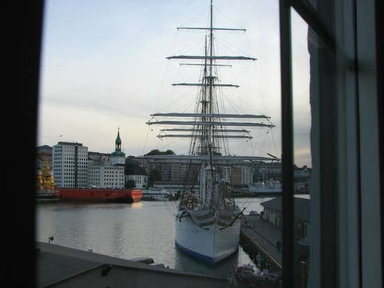 Clarion Collection Hotel Havnekontoret: wonderful views of the harbour