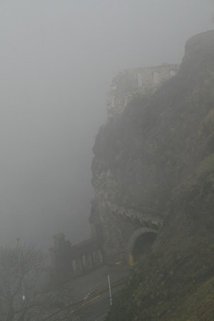 Monumento Cultural Nacional Vysehrad: Вид с Вышеграда в тумане