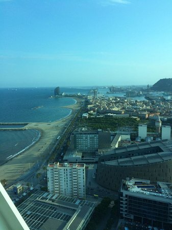 Hotel Arts Barcelona: View from the Penthouse